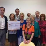 Donazione Banca Fideuram a LILT Pisa 2015 (1/6)