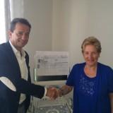 Donazione Banca Fideuram a LILT Pisa 2015 (3/6)
