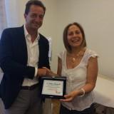Donazione Banca Fideuram a LILT Pisa 2015 (5/6)